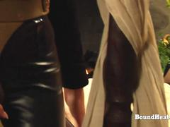 The Education of Erica Gorgeous Lesbian Slaves Orgasming From Strapon