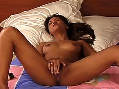 Asian Teen Loves Her Toy
