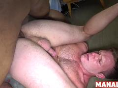 MANALIZED Ray Diesel Eats White Ass Before Fucking It Raw