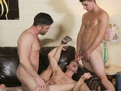 FamilyDick - Younger Stepbrother Gets His Asshole Reamed By Muscular Older Bro