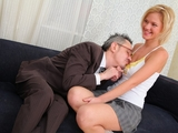 Lovely blonde babe Shelly is spending some quality tutorial time with her teacher
