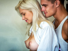 Big breasted Russian Arteya Fucks in the kitchen