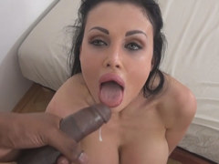 Aletta Ocean vs giant black cock